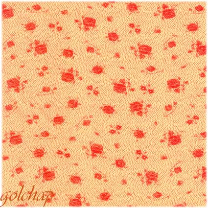 گل رزبازمینه لوزی-کد2186-120